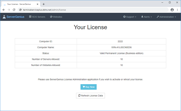 License Screenshot 7